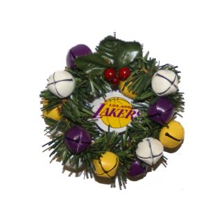 Los Angeles Lakers Wreath Ornament