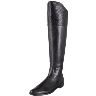 Cole Haan Womens Air Oleanna Riding Boot,Black,5.5 M US Shoes