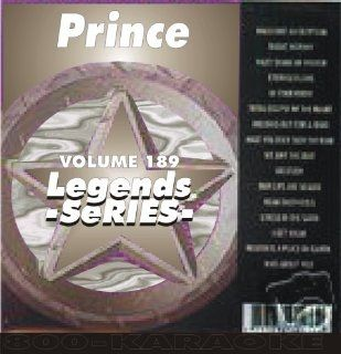 Prince 14 Song Karaoke CDG Legends #189 Legends Music
