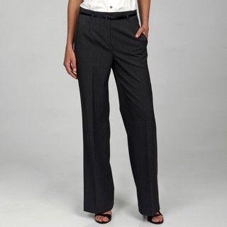 Jones New York Collection Womens Stretch Highwaist Pants