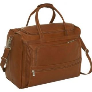 Piel Leather Computer Carry All Bag   Leather   Saddle