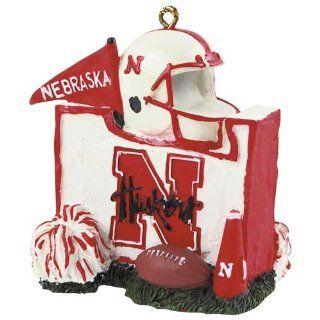 Nebraska Cornhuskers University Mascot Hanging Ornament
