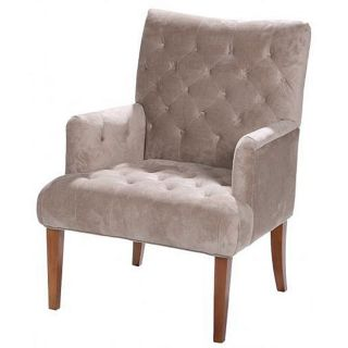 Button Tufted Formal Interior Chair