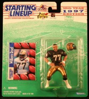 WILLIAM ROAF / NEW ORLEANS SAINTS 1997 NFL Starting Lineup