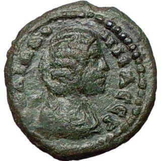 JULIA DOMNA 193AD Marcianopolis Nude Hercules 1st Labor v Nemean Lion