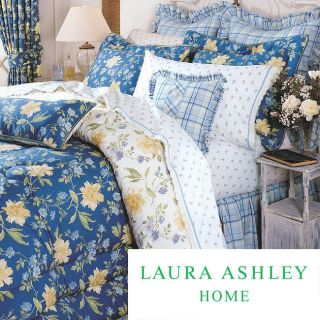Laura Ashley Emilie 4 piece Comforter Set Today: $99.99   $159.99 4.9