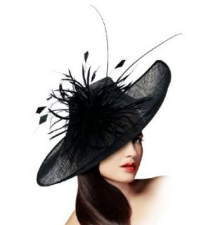 Kentucky Derby Profile Sculpted Fascinator   M34 BLACK