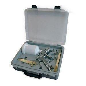 Mallette pistolet de peinture gravité 600 ml   Achat / Vente PISTOLET