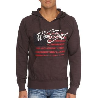 WEST SURF CALIFORNIA Sweat H Chocolat   Achat / Vente SWEATSHIRT WEST