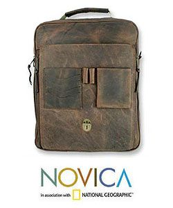 Leather Adventure Spirit Backpack (Mexico)