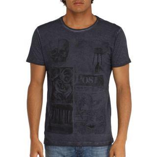 LEGEND&SOUL T Shirt Homme Noir delavé   Achat / Vente T SHIRT LEGEND