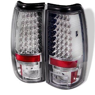 99 02 Chevy/GMC Silverado LED Tail Lights   Chrome