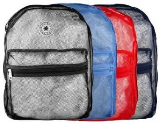 (200 Pieces) K Cliffs Mesh See Through School Backpack