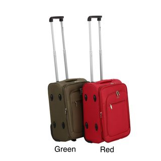 Benzi 20 inch Expandable Rolling Carry on Polyester Upright Luggage