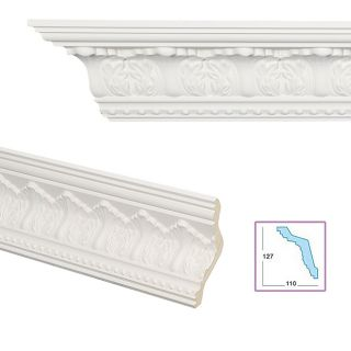 Acanthus Pellet 6.53 inch Crown Molding Today $259.99