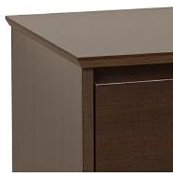 Yaletown Tall Espresso 3 drawer Night Stand