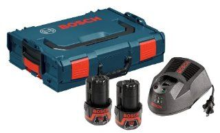Bosch SKC120 202L 12 volt Max Lithium Ion Starter Kit with 2 Batteries