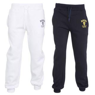NYPD 2 Pantalons de Jogging Homme Blanc et marine   Achat / Vente