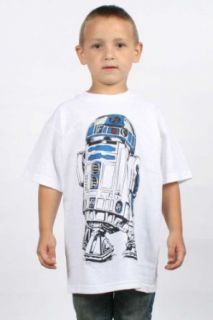 Star Wars   Kids R2D2 T Shirt in White, Size X Large