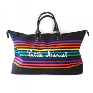 LITTLE MARCEL Sac de voyage NAVIGA Femme Multicolore   Achat / Vente
