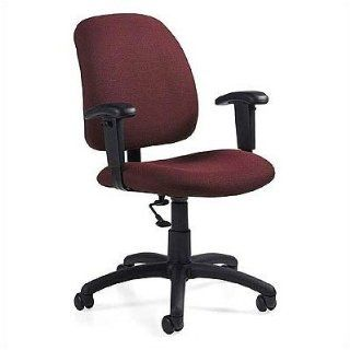 Global Total Office Low Back Pneumatic Task Chair with T