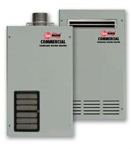 Rheem Tankless Water Heater GT 199PVN 1, Indoor Use