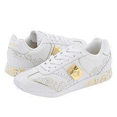 Baby Phat Lady Cat White/Gold