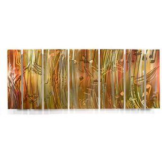 Ash Carl Dusk 7 panel Abstract Metal Wall Art Today $329.99 Sale $