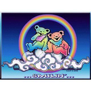 Sm Dancing Bears Jerry Garcia Grateful Dead Music Hippie Stickers Art