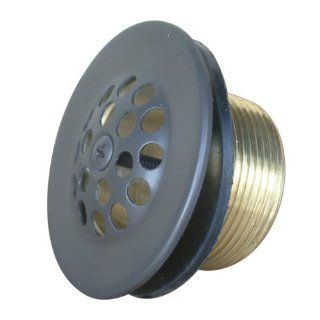 Kingston Brass DTL205 Bath Tub Drain Strainer and Grid, Oil Rubbed