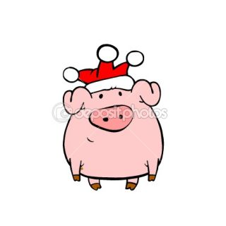Cartoon pig  Stock Photo © Vladislav Ociacia #1111332