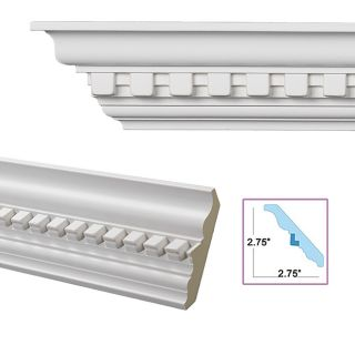 Dentil 3.9 inch Crown Molding Today $124.99