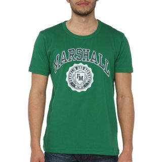 FRANKLIN MARSHALL T Shirt H Vert Vert   Achat / Vente T SHIRT FRANKLIN