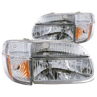 Anzo USA 111040 Ford Explorer Crystal with Amber Corner Chrome