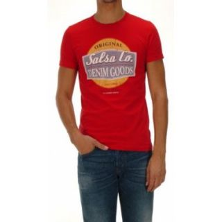 shirt Salsa Jean Regular Logo 738   Tee shirt manches courtes rouge