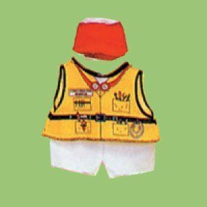 Dexter DEX 208   Construction Doll Costume Toys & Games