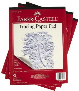 Faber Castell Tracing Paper Pad 9 x 12 Toys & Games