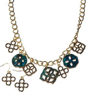 Designer Inspired Lightweight 18 Gold Tone Rolo Chain