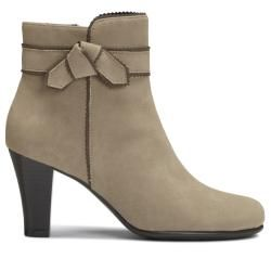 A2 by Aerosoles Ground Role Light Tan Combo Ankle Boot