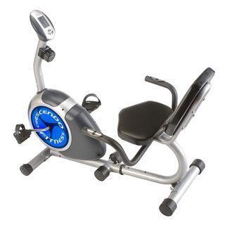 Lion Fitness Mag Resistance Recumbent Exercise Bike