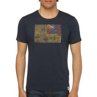 FRESH BRAND T Shirt Homme Marine Marine   Achat / Vente T SHIRT FRESH