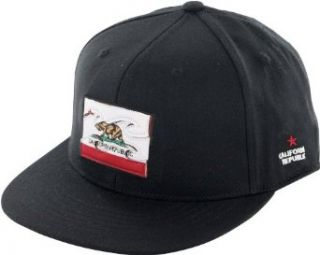 Billabong Native California 210 Fitted Hat   Black (Small