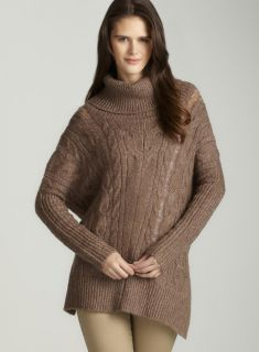 Romeo & Juliet Couture Cable Knit Oversize Cardigan