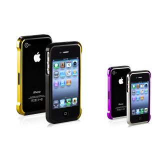 Gold/ Black/ Purple/ Silver Metal Bumper for Apple® iPhone 4/ 4S