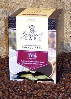 Kona Blend Coffee Pods    Box of 12 Pods, Each Pod Makes a