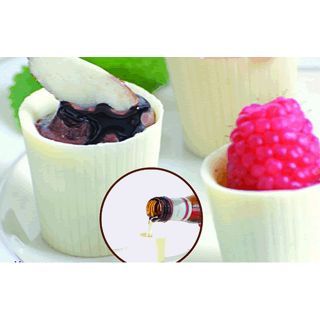 Chocolates White Chocolate Dessert Cups (Case of 128)
