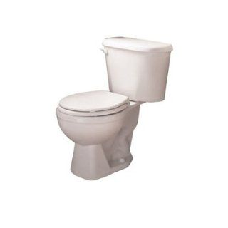 American Standard 2388.012.222 Colony Two Piece Round Front Toilet