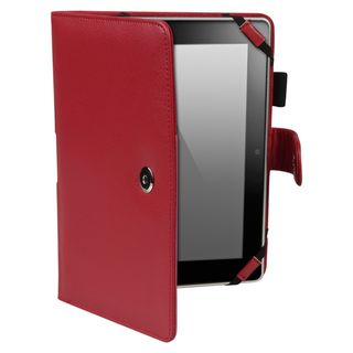 BasAcc Red Leather Case for  Kindle Fire HD 8.9 inch