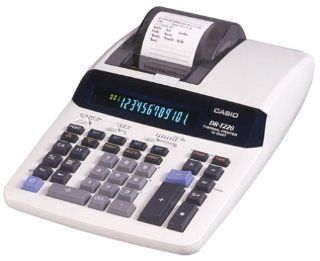 Casio DR T220 Desktop Calculator with Thermal Printer and