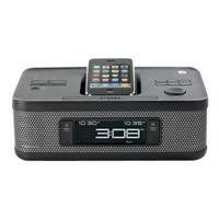 MEMOREX 02171 IPHONE?/IPOD? FM CLOCK RADIO